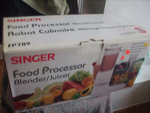 Singer Food Processor, Blender/Juicer