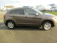 2014 Mitsubishi Asx DI-D 4 4x4 - GLASS PAN ROOF - LEATHER - GREAT VALUE!! Hatchb