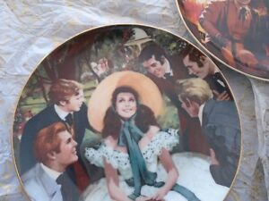 Gone With the Wind, Golden Anniversary Plate series Peterborough Peterborough Area image 2