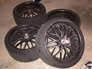Rims on Tires 19 inch Kitchener / Waterloo Kitchener Area image 8