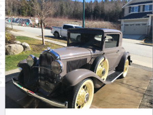 Beautiful original 1931 Plymouth PA oval window coupe