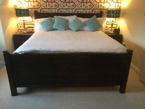 Solid Maple bedroom suite