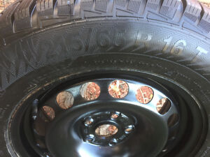 215/65R16 winter tires Regina Regina Area image 3