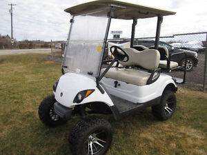 "2010 YAMAHA ""GAS"" CUSTOM GOLF CART *FINANCING AVAIL. O.A.C."