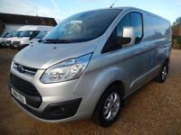 2014 14 FORD TRANSIT CUSTOM 270 LIMITED 2.2 TDCI LOW ROOF SWB 125 BHP 49933 MILE