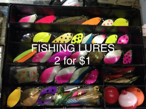 Fishing Lures 2 for $1 & we have lots of stuff for sale!