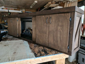 Fire place cabinet (blow out sale )