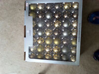 Box of 84 Christmas Decorations by Gluckstein