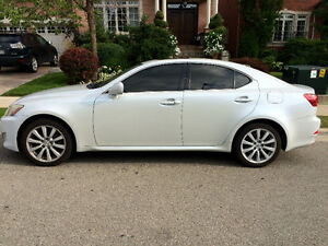 Pearl White 2006 Lexus IS250 AWD with SNOWTIRES $8500 OBO