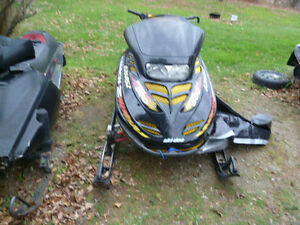 parting out a 1998 skidoo mach z