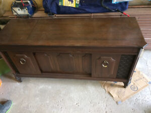 Antique record player REDUCED PRICE