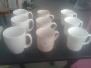 Nine coffee mugs (six smaller ones, three normal sized) $9 Kitchener / Waterloo Kitchener Area image 1