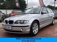 2004 54 BMW 3 SERIES 2.0 318I SE TOURING 5DR AUTO 141 BHP-2 KEYS