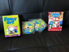 Family Guy Season 3,5,7 DVD Collection