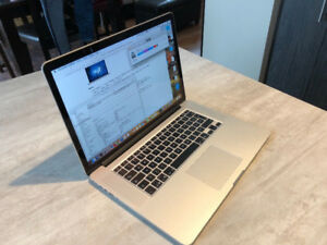 "FULLY MAXED OUT i7/16GB/512GB/ Macbook Pro 15"" RETINA"