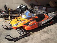 For Sale!! 04 Arctic Cat King Cat 1M 900 TITANIUM EDITION 162""
