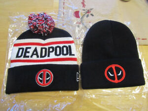 Deadpool winter hats, toques, As low as $10