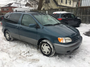 "2003 TOYOTA SIENNA""LOW KM/NO ACCIDENT/CERTIFIED"""