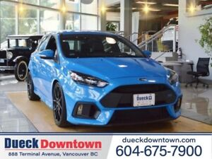 2016 Ford Focus RS  - SYNC -  Power Windows - Low Mileage