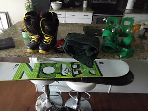 Snowboard setup best offer takes it all