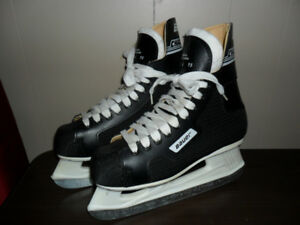 Mens / Teen Boys Bauer Challenger Size 6 Ice Hockey Skates