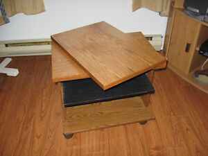 Swivel occassional table