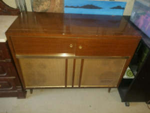 Marconi Record Player and Radio