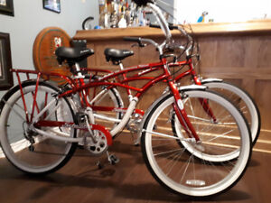 Vintage to 40th anniversary Tim Hortons bikes never been ridden