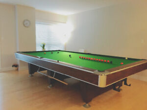 Full Size Snooker Table $200