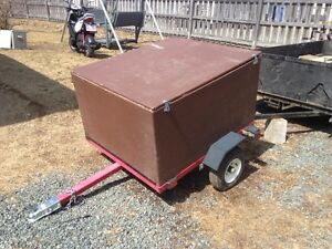 Atv trailer bilt mew last year never used
