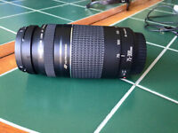 NEVER USED Canon 75-300mm Lens