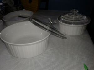 Round Cooking Ware Bowls & Lids