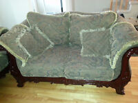 3- sets of couches from high end shop