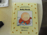 Baby Record Book $5.00