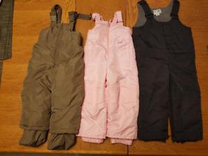 Child's snow pants 18 mo- size 2