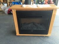 Heat Surge Infrared Fireplace Roll-n-Glow