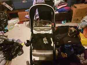 Guc double stroller saftey first Prince George British Columbia image 2