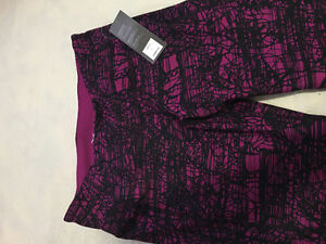 NEW Old Navy Purple Cropped Workout Leggings