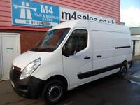 Vauxhall Movano 3500 L2 H2 CDTI M/R MWB TWIN SLD WITH A/C 125PS