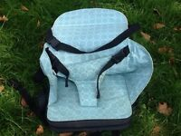 Baby Travel Portable High Chair Booster Seat in very good condition