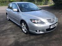MAZDA 3 2.0 SPORT SILVER 5 DOOR HATCHBACK PETROL MANUAL 2006