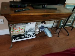 Bakers rack or sofa table
