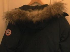 Canada Goose male jacket dark blue