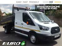 2017 Ford Transit 350 2.0TDCi 130PS LWB L3 Utility Cab Tipper EU6 Tipper Diesel