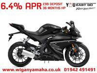 YAMAHA YZF-R125 ABS, 2018 MODEL FOR 68 REG, 0 MILES LOW RATE FINANCE AVAILABLE..