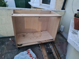 free kitchen 1000mm base unit with doors