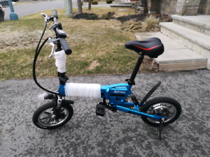 New Folderable E-Bike  with new Lithium Battery