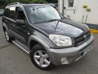 2003 TOYOTA RAV-4 XT4 VVT-I SUNROOF CLIMATE LEATHER 4X4 PETROL