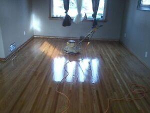 HARDWOOD FLOORS. REFINISHING AND INSTALLING RECOAT AND REPAIR Strathcona County Edmonton Area image 1