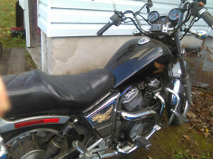 Excellent Value  1984 Honda Shadow VT 500  REDUCED to $1300.